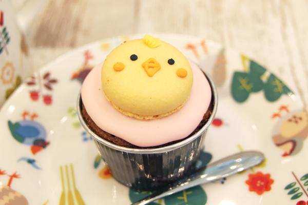 ことりカップケーキ
