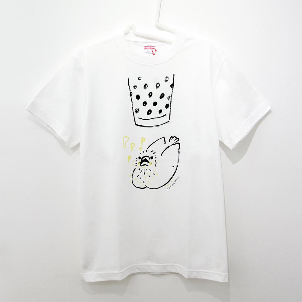 育てられた文鳥T-shirt
